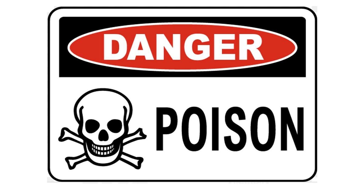 Poison Labels – What Do They Mean?